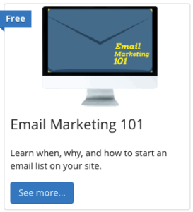 email marketing 101 course