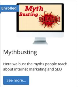 KGR Keyword Golden Ration Myth Course