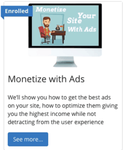 monetize your site with ads