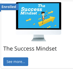 Having the Success Mindset Class