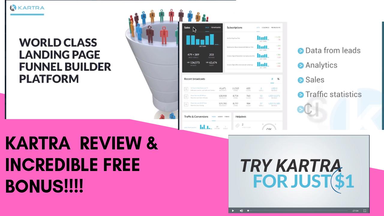 Kartra Review- Best Sales Funnel Builder Software Ever?