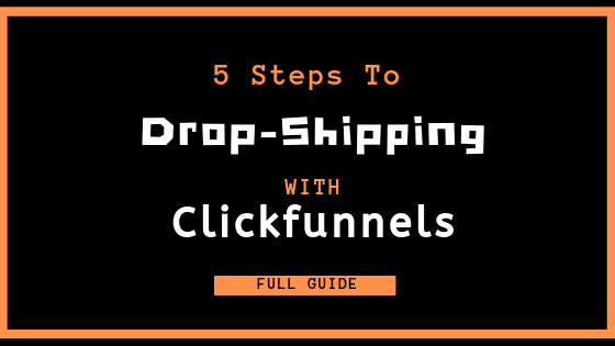 dropshipping with clickfunnels banner