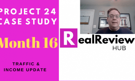 Project 24 Review & Case Study- Month 16 Update